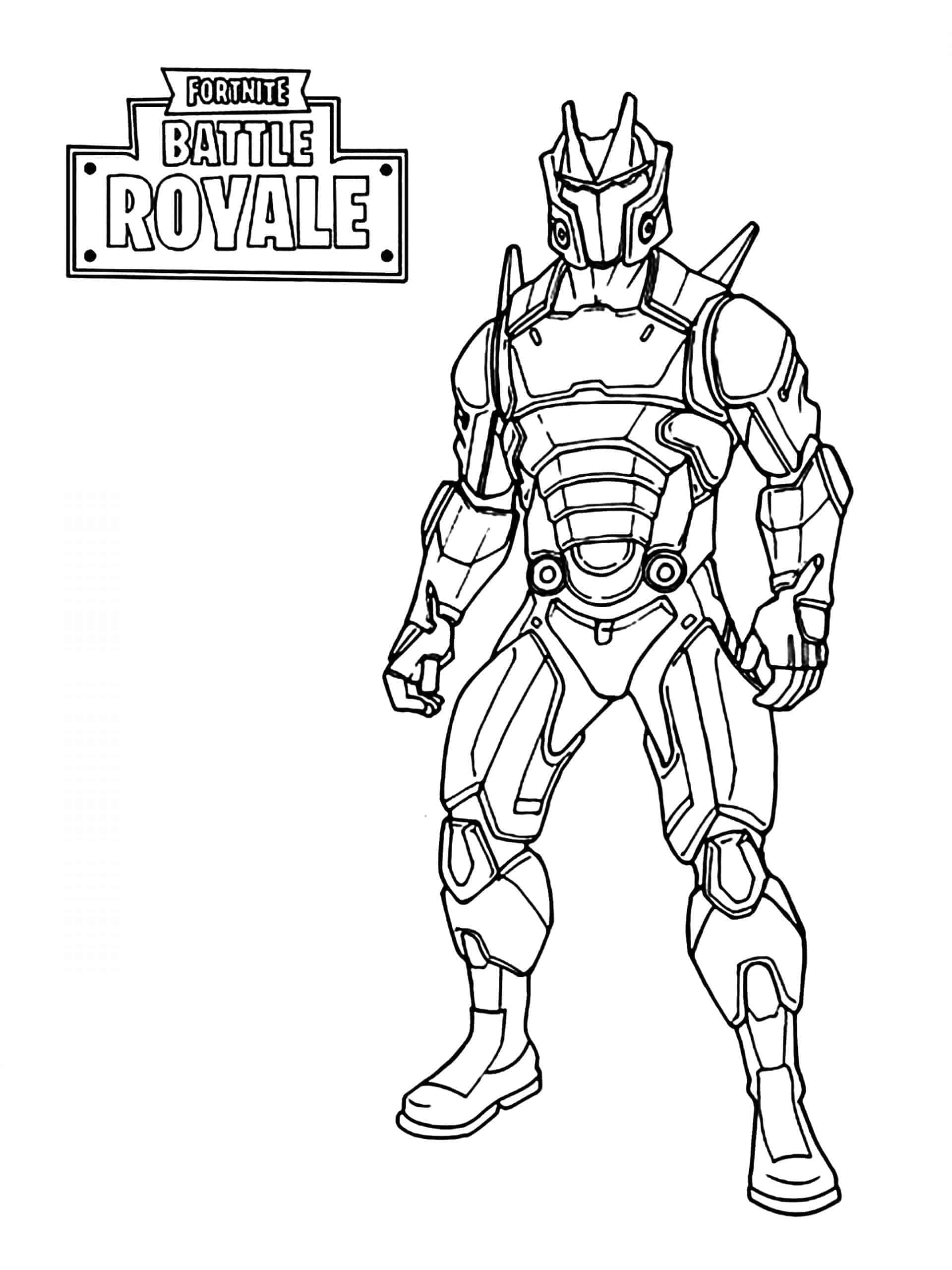 Line Drawing Fortnite Coloring Pages Free Printable Coloring Pages For Adults