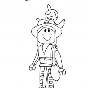 Ninja Boy Roblox Coloring Pages