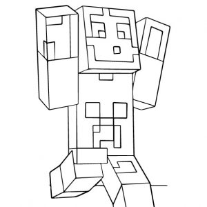 Minecraft Category Coloringwithkids Com