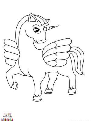 Royal Winged Unicorn
