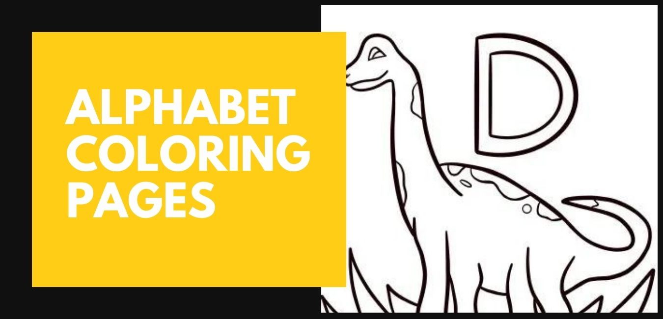 Alphabet Coloring Pages Featured Image