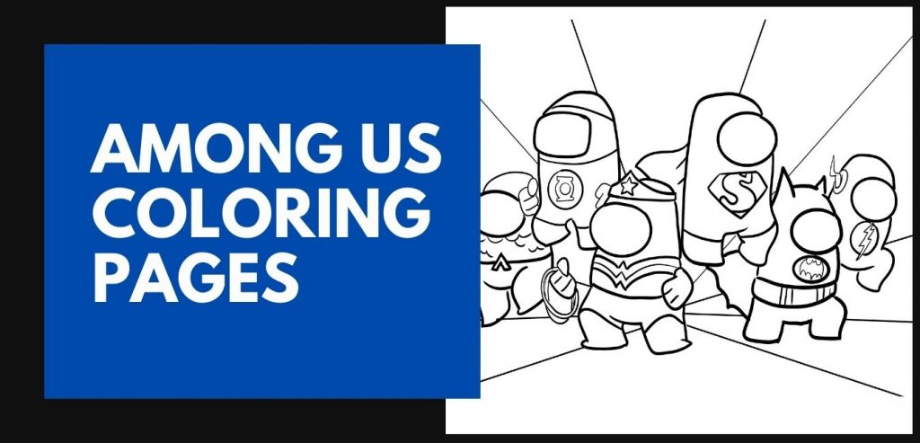 Among Us Coloring Pages