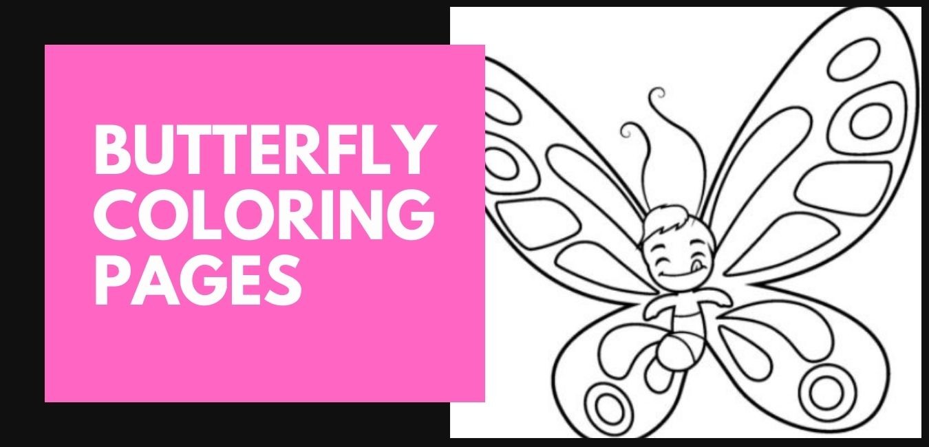 Butterfly Coloring Pages Blog Post