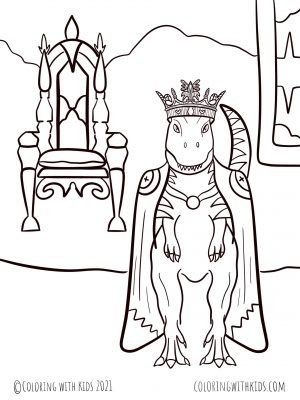 Dinosaur King Coloring Pages
