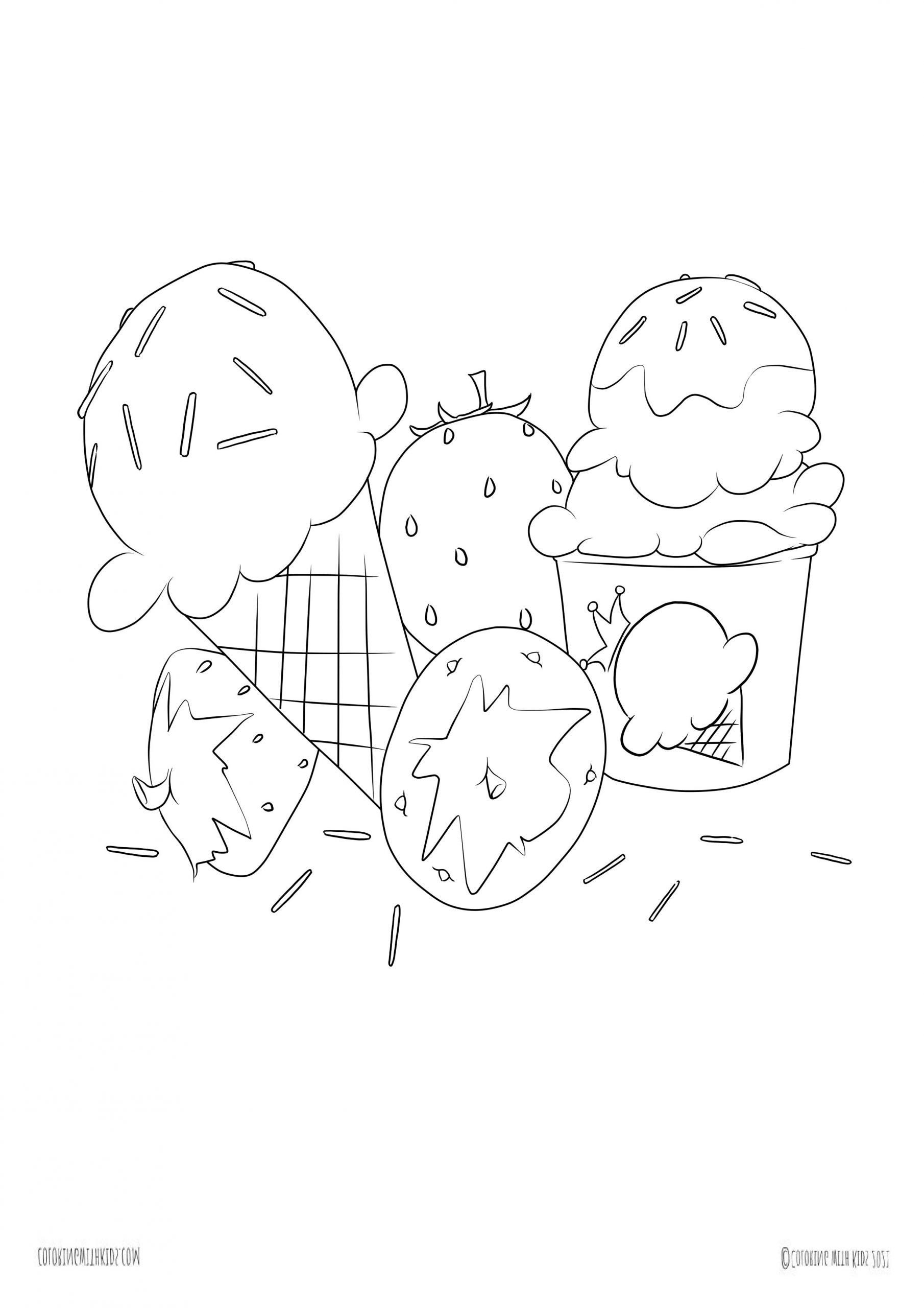 Kawaii crush food
