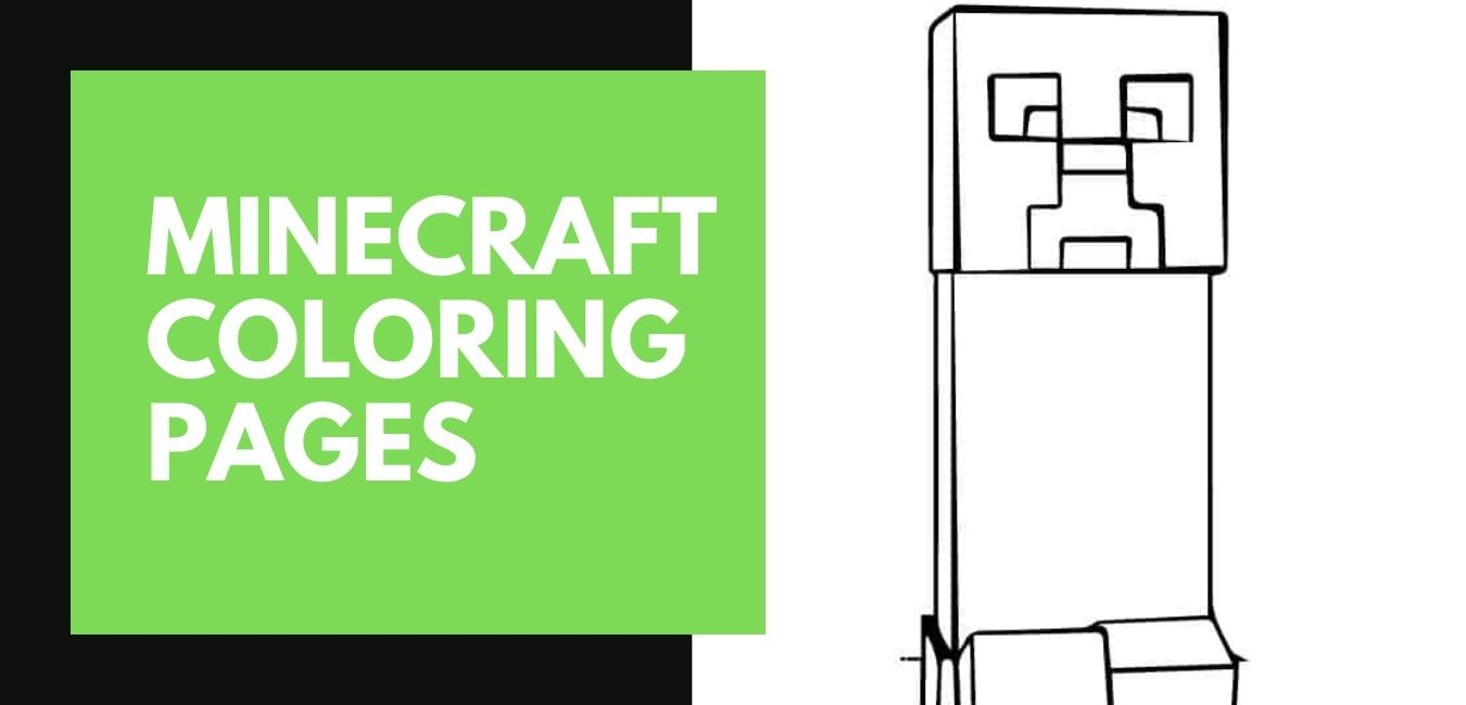 Minecraft Coloring Pages blog Post