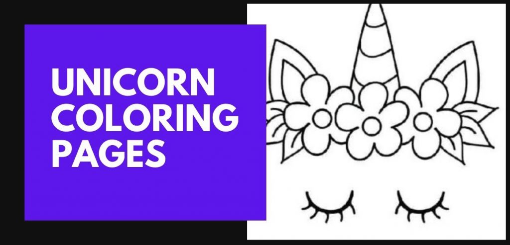 Unicorn Coloring pages blog post