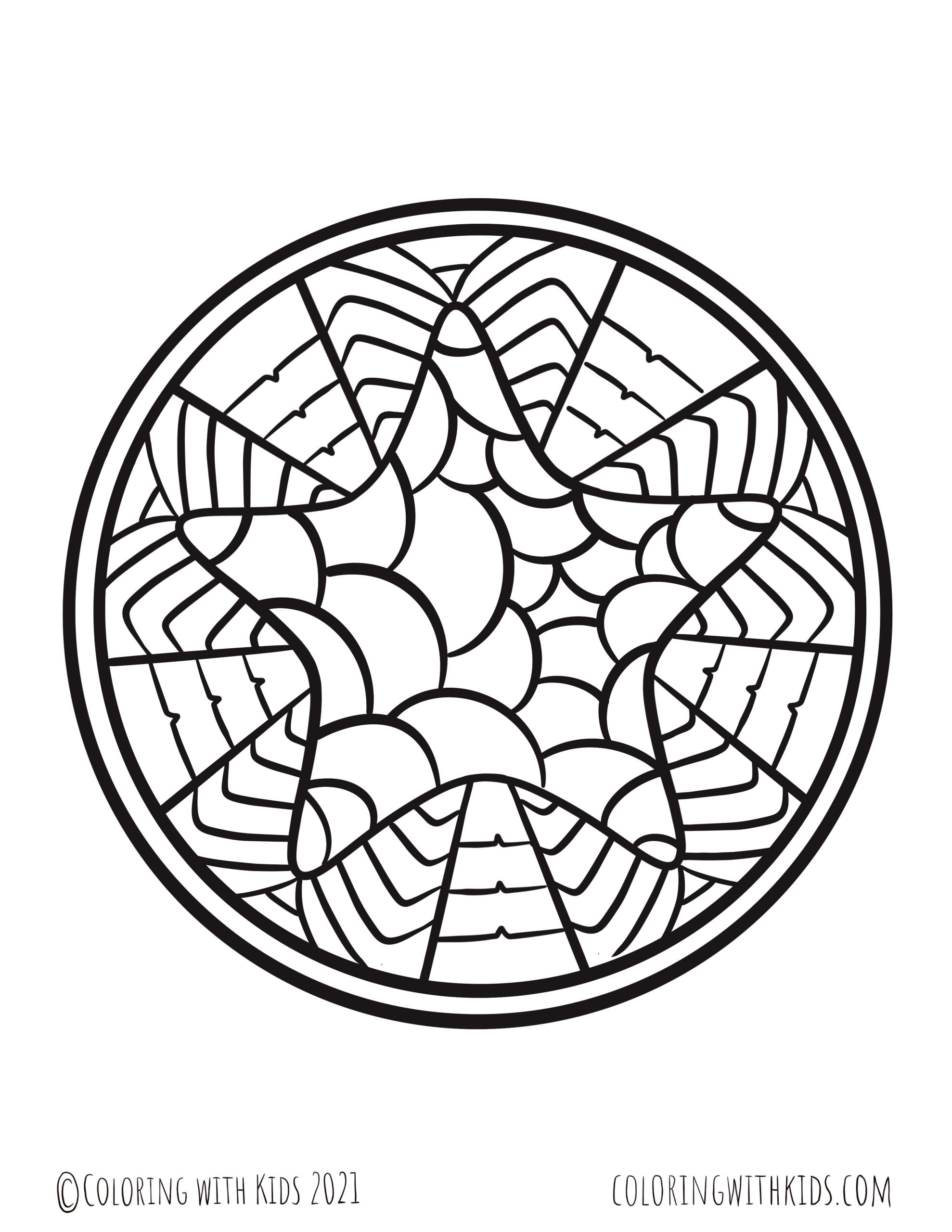 Adult Star Coloring Page