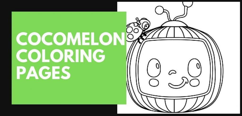 A collection of fun cocomelon coloring pages for kids