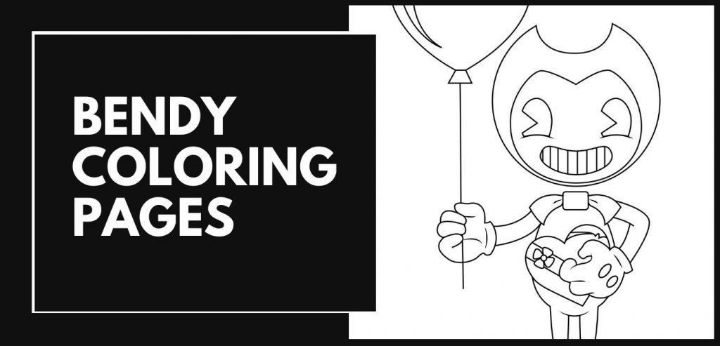 Bendy Coloring Pages