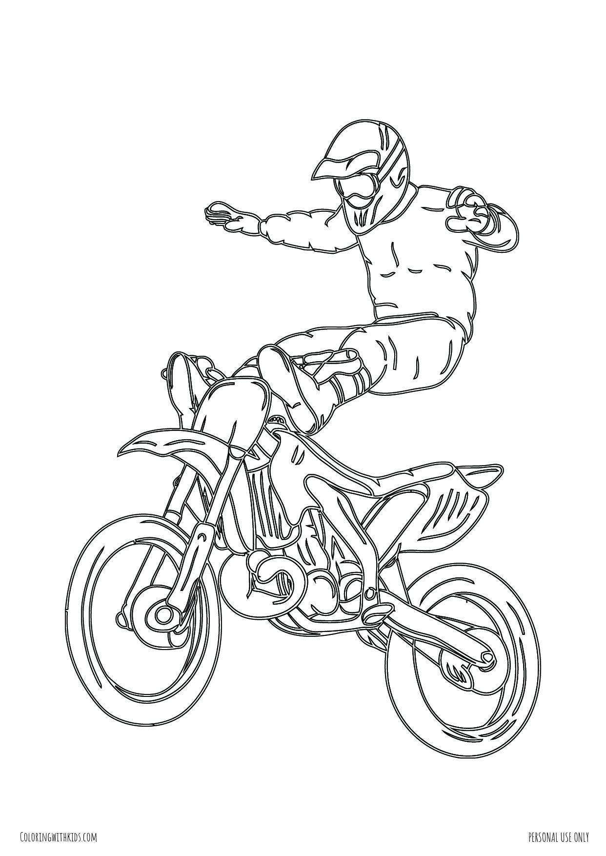 Dirt Bike Hands Free