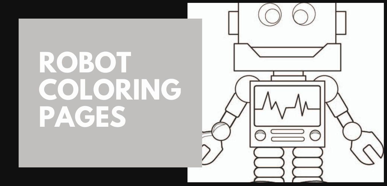 Robot Färgläggningssidor