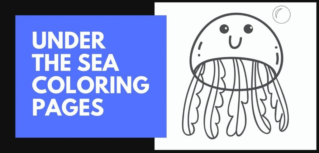 Under the Sea Färgnings sidor