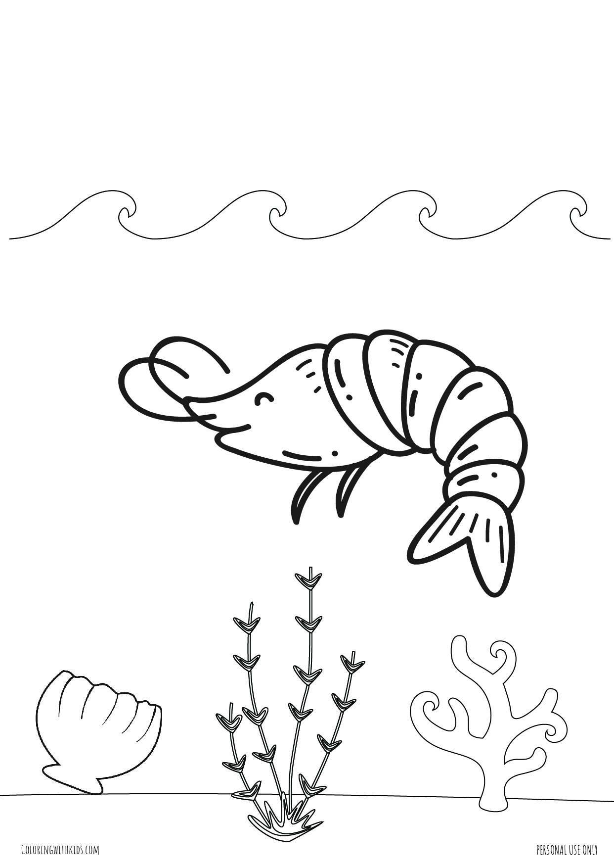 Under the sea coloring pages-02