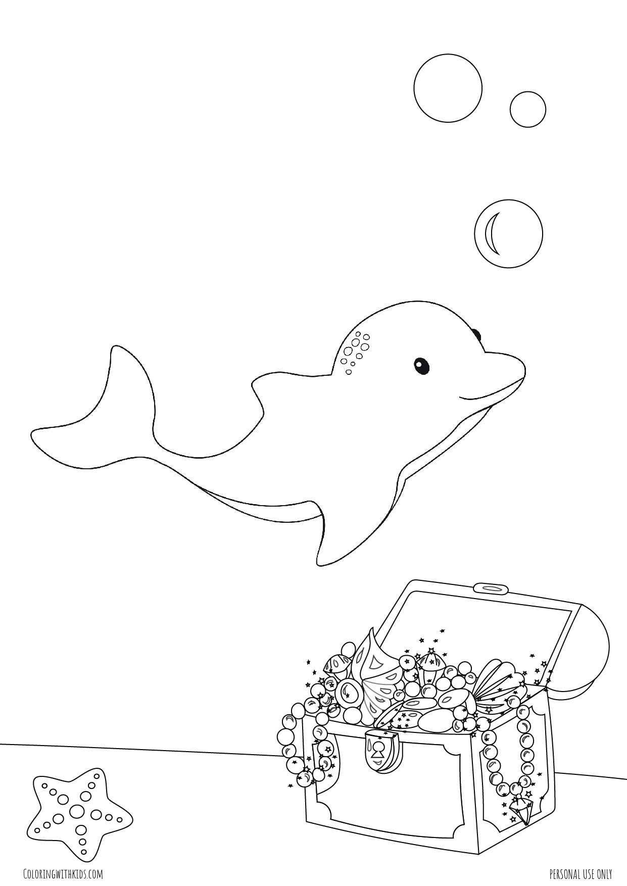 Under the sea coloring pages-09