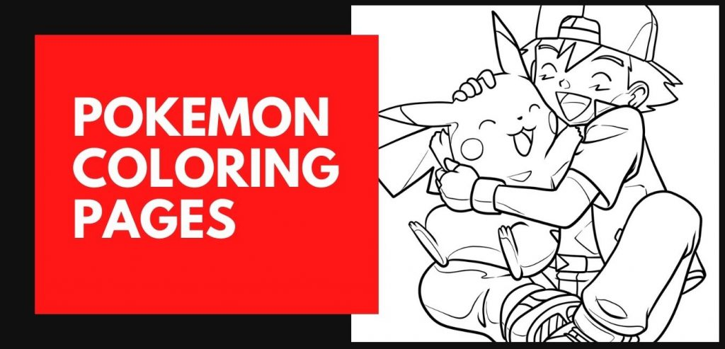 A collection of Pokemon Coloring pages