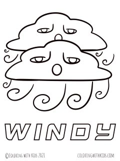 Weather Coloring Pages(1)