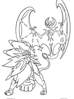 Sunandmoon Coloring Page