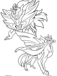 Swordandsheild2 Coloring Page
